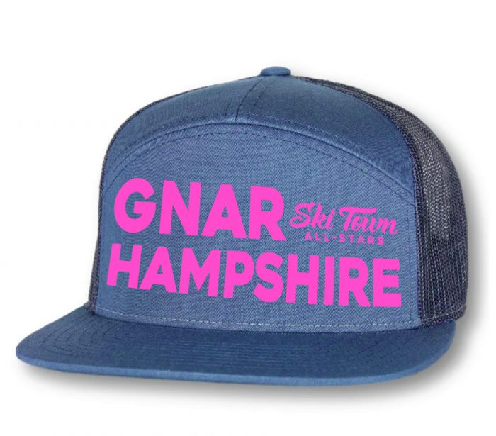 Ski Town All Stars Gnar Hampshire 7 Panel Hat